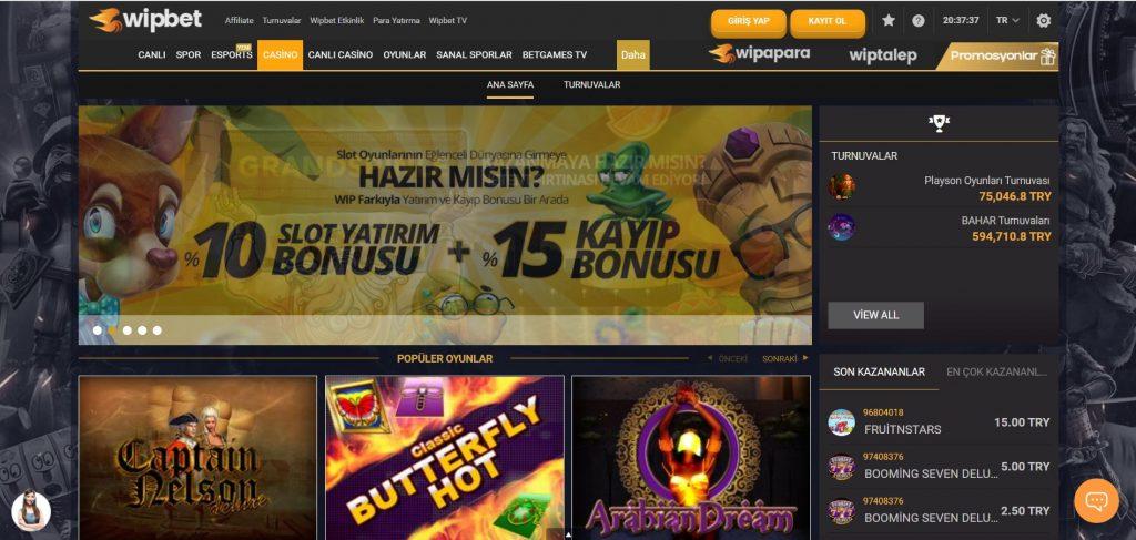 wipbet casino